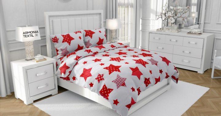Lenjerii de pat bumbac ranforce si bumbac satinat, doua tipuri de lenjerii avantajoase pentru acasa